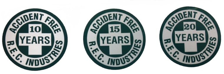 Our employees have remained as many as 23 years Accident-Free!